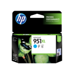 HP 951XL High Yield Original Cyan Ink Cartridge