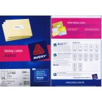 AVERY L7163 LASER ADDRESSING MAILING LABELS, 100 SHEETS